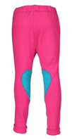 Horka 'Minis' Junior Jodhpurs with Knee Patches in Magenta